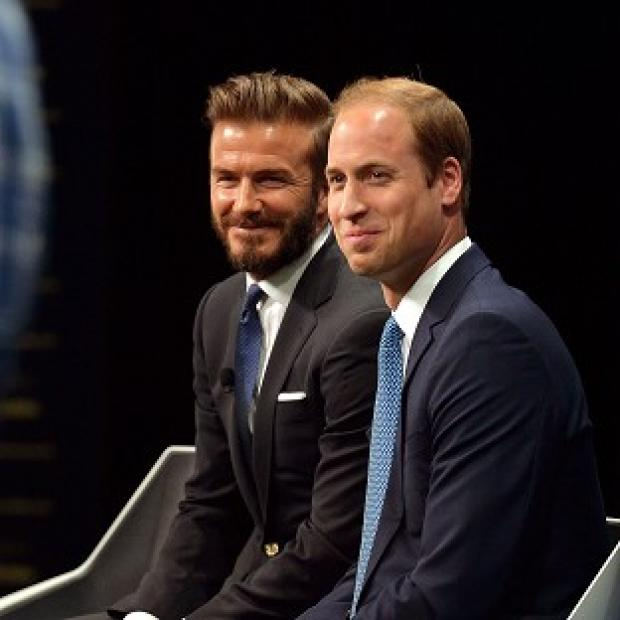Salisbury Journal: David Beckham joined the Duke of Cambridge to launch a new campaign using the power of sport to combat illegal trade in wildlife products