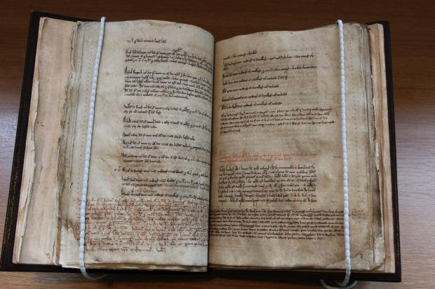 St Osmund's register returns home to cathedral