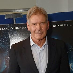 Salisbury Journal: Harrison Ford is being treated for an ankle injury