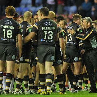 Daryl Powell, right, has led Castleford to third in the table