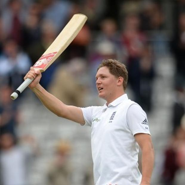 Salisbury Journal: Gary Ballance helped England build a big lead