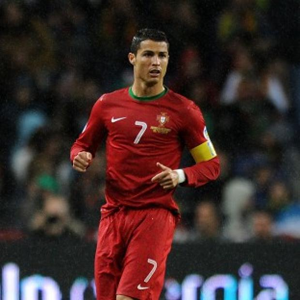 Salisbury Journal: Portugal captain Cristiano Ronaldo, pictured, is fully fit to face Germany in Group G