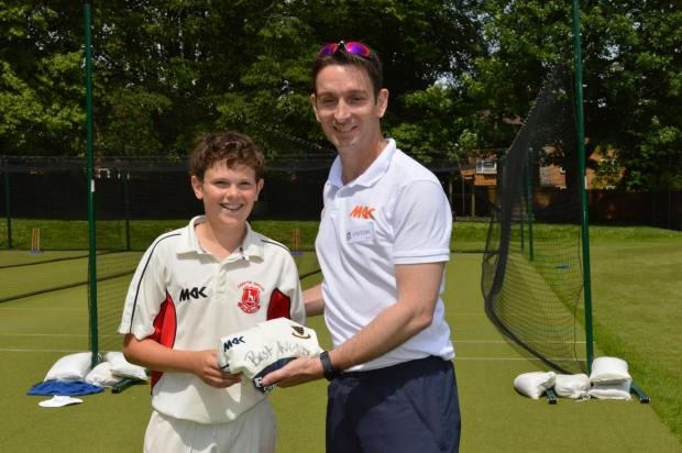 Expert cricket coaching at Chafyn Grove