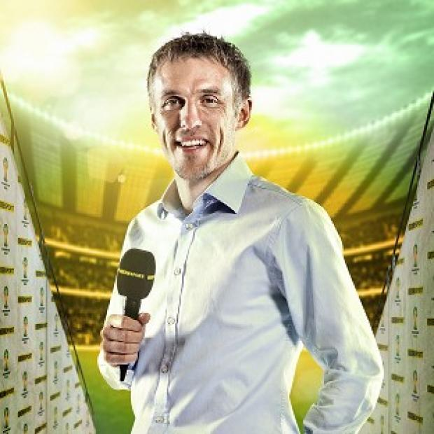 Salisbury Journal: Phil Neville thanked viewers for their criticism after complaints about his commentary (Andrew Hyyes-Watkins/BBC/PA)
