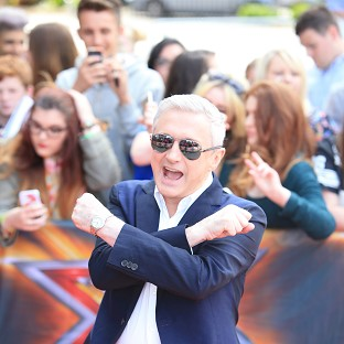 Louis Walsh was up to his old tricks on the first day of The X Factor auditions