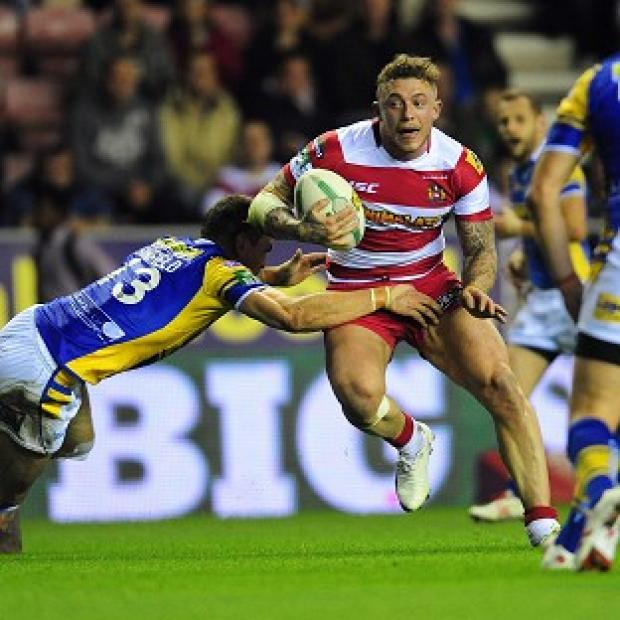 Salisbury Journal: Josh Charnley grabbed five tries in his comeback match