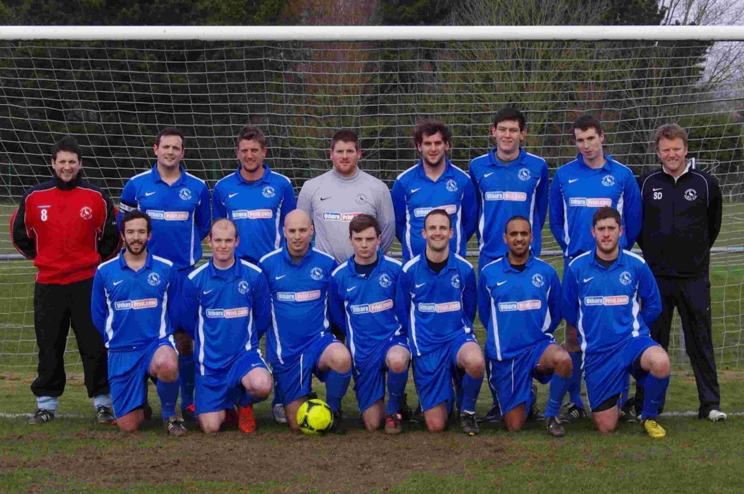Cranborne FC's first team, which plays in the Dorset Premier League