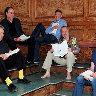 Terry Jones, Eric Idle, Michael Palin, Terry Gilliam and John Cleese are reuniting for their new show Monty Python Live (Mostly) at London's O2 Arena