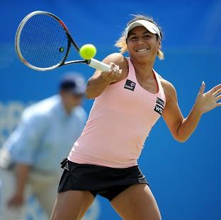 Salisbury Journal: Heather Watson opens her Wimbledon campaign today