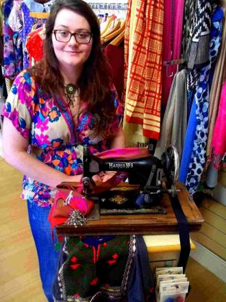 Learn about remodelling vintage clothing