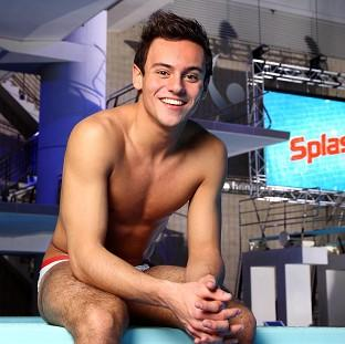 Salisbury Journal: Tom Daley is concentrating on his d