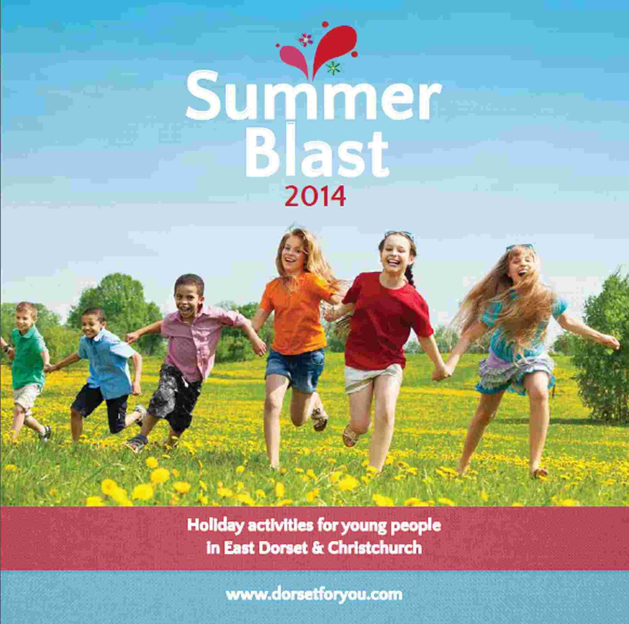 New leaflet detailing fun activities for kids in East Dorset this summer