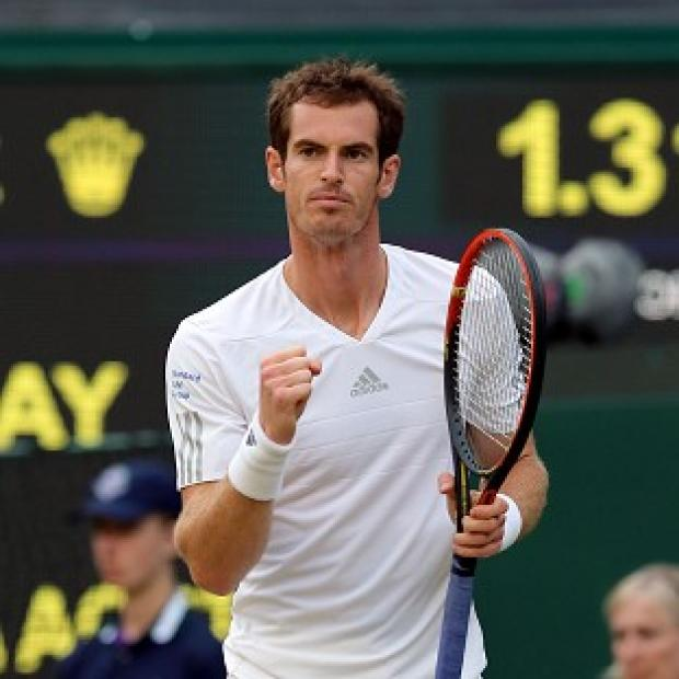 Salisbury Journal: Great Britain's Andy Murray eased to a third round victory