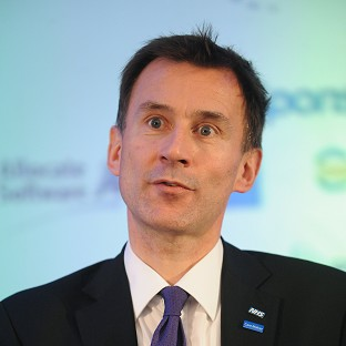 Jeremy Hunt said tough action must be taken over cancer diagnosis levels