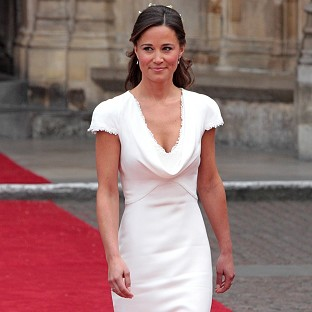 Pippa Middleton says her bridesmaid's dress was meant to be almost insignificant