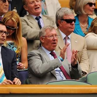 Salisbury Journal: Former Manchester United manager Sir Alex Ferguson watched Murray's quarter-final victory last year