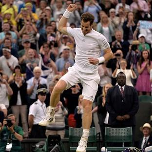 Andy Murray, pictured, is pleased to have Sir Alex Ferguson in his corner