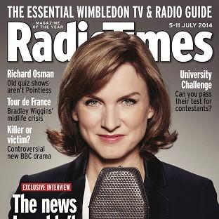 Fiona Bruce is shunning social media