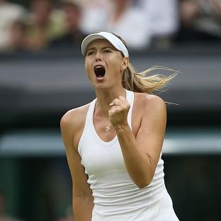 Maria Sharapova, the French Open champion, faces a tough schedule if she is to advance at Wimbledon