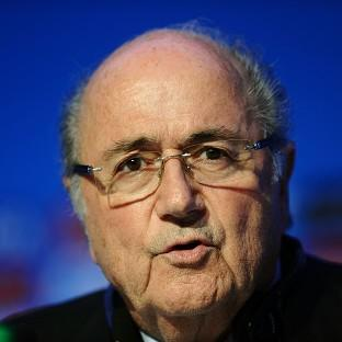 FIFA president Sepp Blatter is waiting for the outcome of an investigation into match-fixing claims.