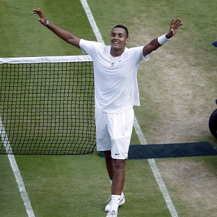 Nick Kyrgios has defied the odds so far at Wimbledon