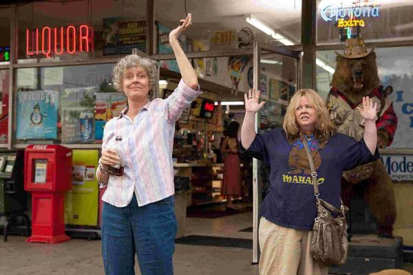 Melissa McCarthy as Tammy and Susan Sarandon as Pearl Picture: PA Photo/ Warner Brothers