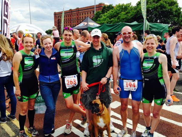 Triathletes return from West Country
