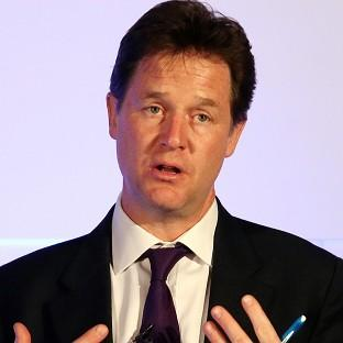Nick Clegg wants suggestions for how to boost growth in northern cities such as Leeds, Sheffield and Manchester