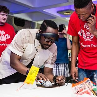 Will.i.am has seen how young people are learning high-tech skills as a result of his half-a-million pounds of funding