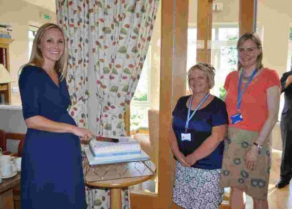 Hospice reopens after refurbishment
