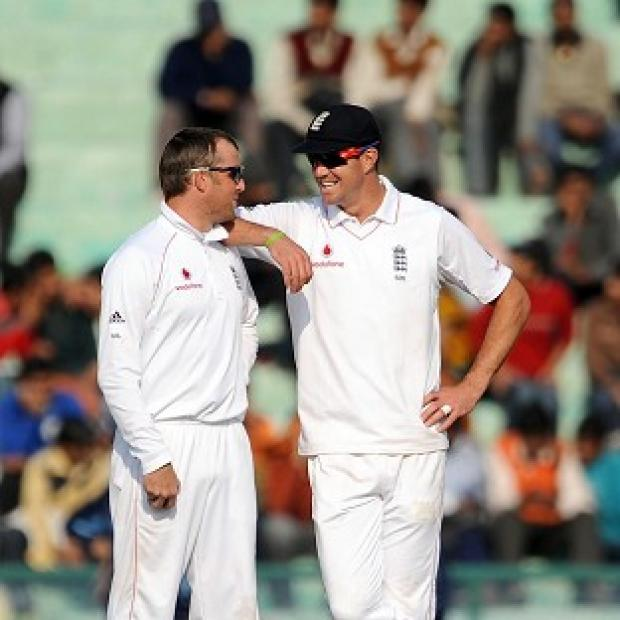 Salisbury Journal: Kevin Pietersen, right, believes Graeme Swann was crucial for England