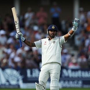 Murali Vijay's century was the highlight of the first day at Trent Bridge