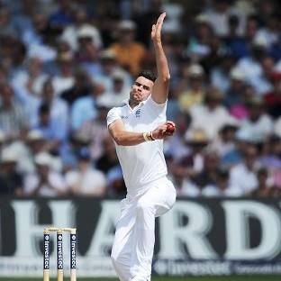 James Anderson experienced little joy at Trent Bridge