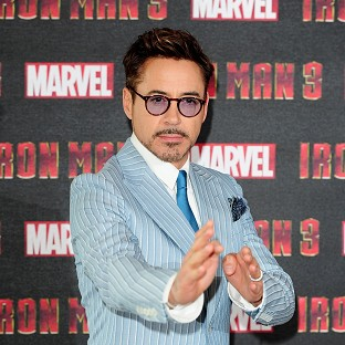 Robert Downey Jr has announced he's set to become a dad again