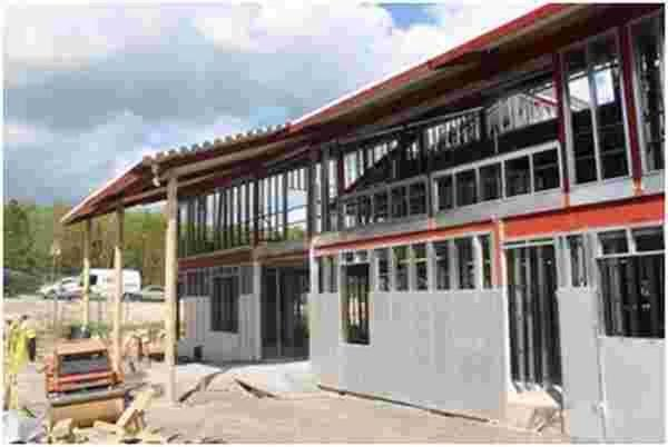 Work continues on Wellington Primary Academy