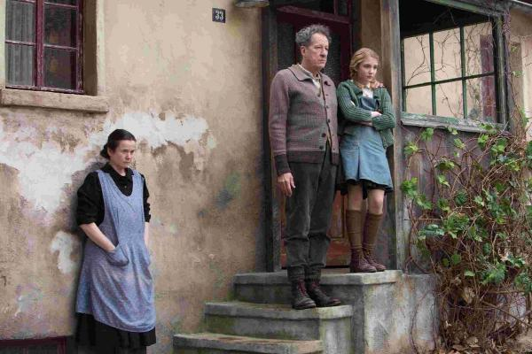 Liesel with her foster parents, Hans and Rosa Picture: PA Photo/Twentieth Century Fox