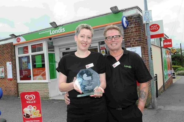 Award for Bemerton Heath store