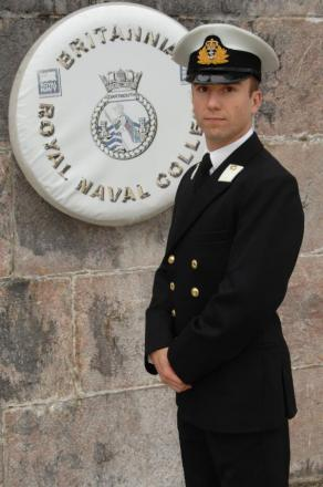Joseph is commissioned as officer
