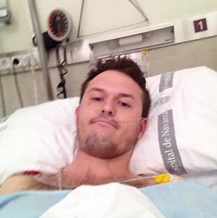 Salisbury Journal: Tom Hadfield suffered four fractured ribs and a punctured lung
