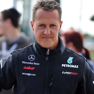 Michael Schumacher is understood to be slowly improving, according