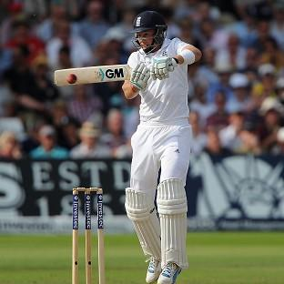England's Joe Root helped rescue his side from a perilous position on day three of the first Investec Test against India