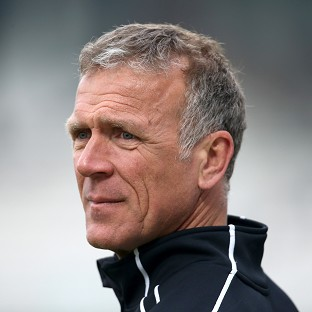 Alec Stewart, pictured, thinks Alastair Cook should c
