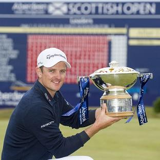 Justin Rose will chase a third title in a row at the Open Championship