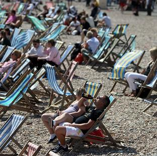 Britain is set to swelter in temperatures of up to 30C this week
