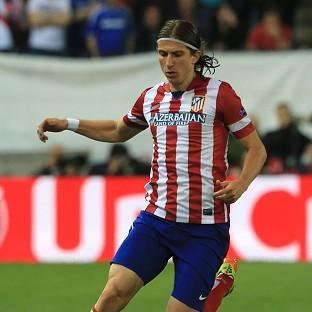 Filipe Luis, pictured, has followed Diego Costa from Atletico Madrid to Chelsea