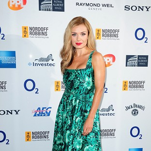 Katherine Jenkins has said she isn't planning to sing at her upcoming wedding