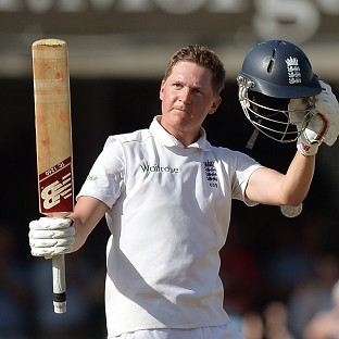 Gary Ballance scored a fine Test century at Lord's against India