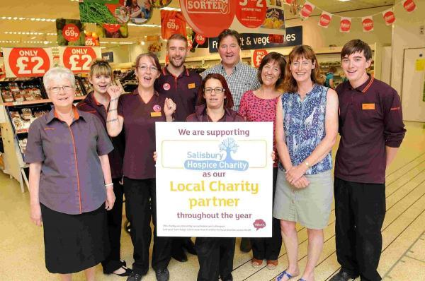 Sainsbury's to raise money for hospice