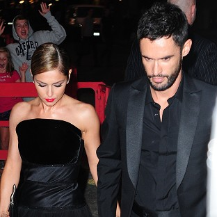 Cheryl throws starry wedding party