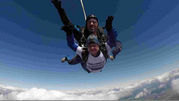 Skydive for Andrew